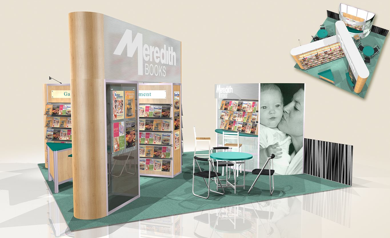 Meredith Publishing 20' x 30' Peninsula Display