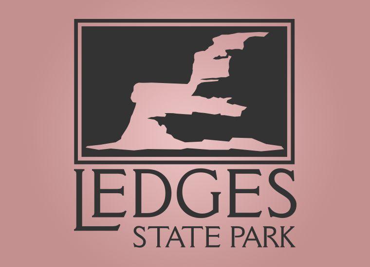 Ledges State Park Logo