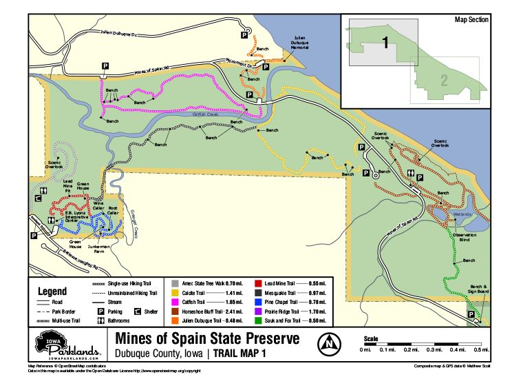 Mines of Spain Map