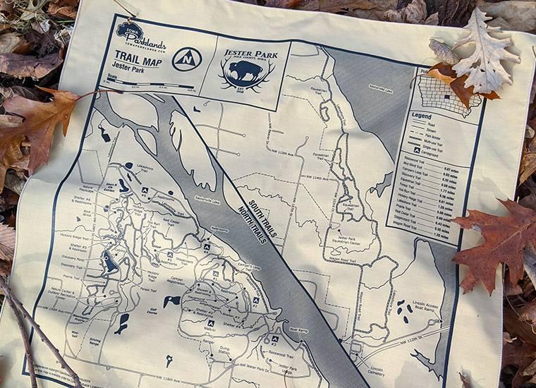 Jester Park Map