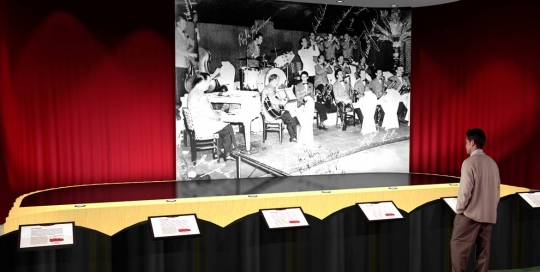 Music Man Square - Big Band Stage - Concept Rendering