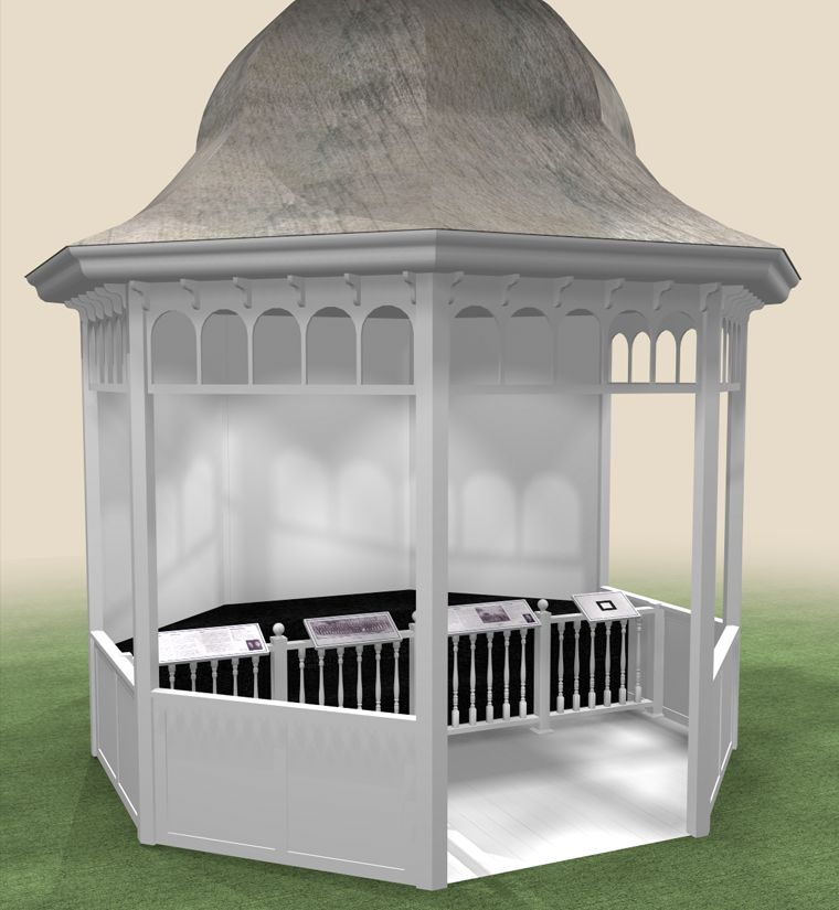 Music Man Square - Gazebo - Concept Rendering