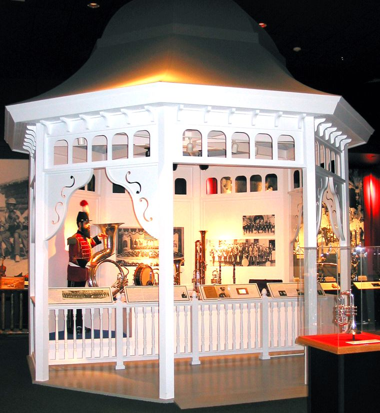 Music Man Square - Gazebo - Photo