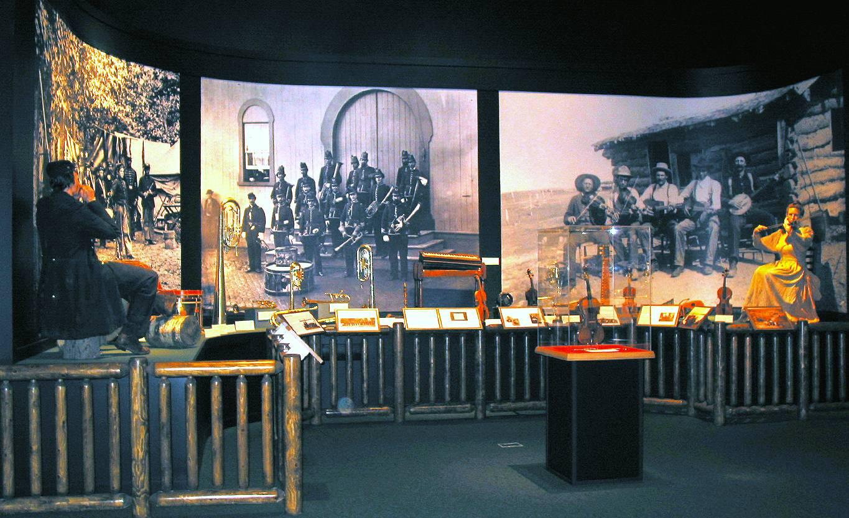 Music Man Square - Civil War Music - Photo