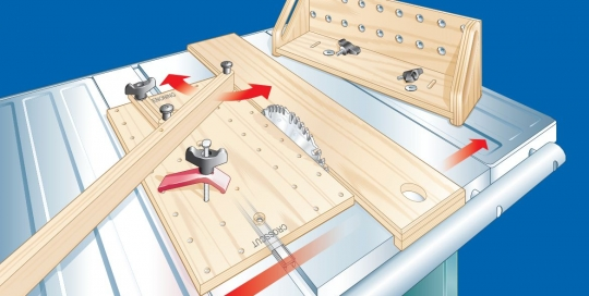 Table Saw Rendering