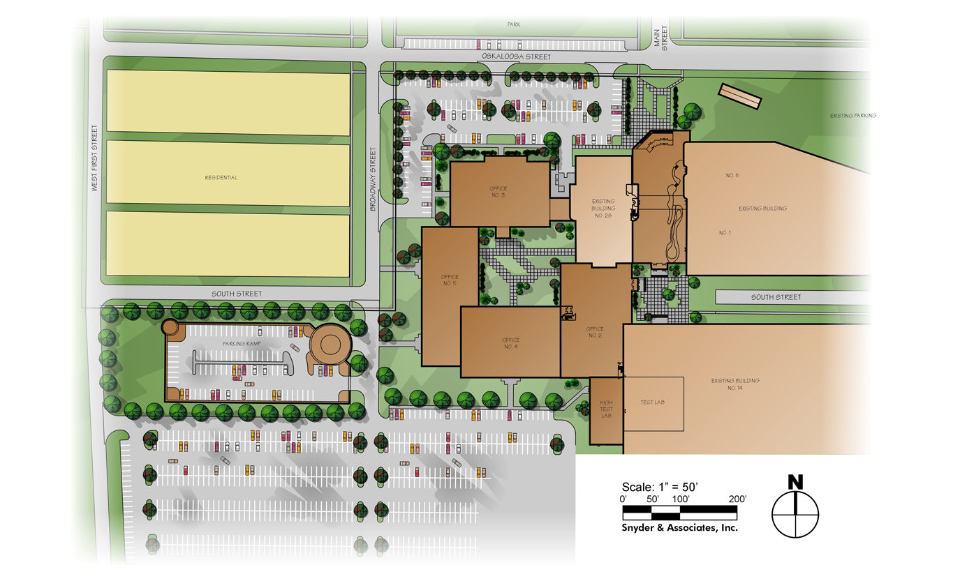 Manufacturing Company Site Plan