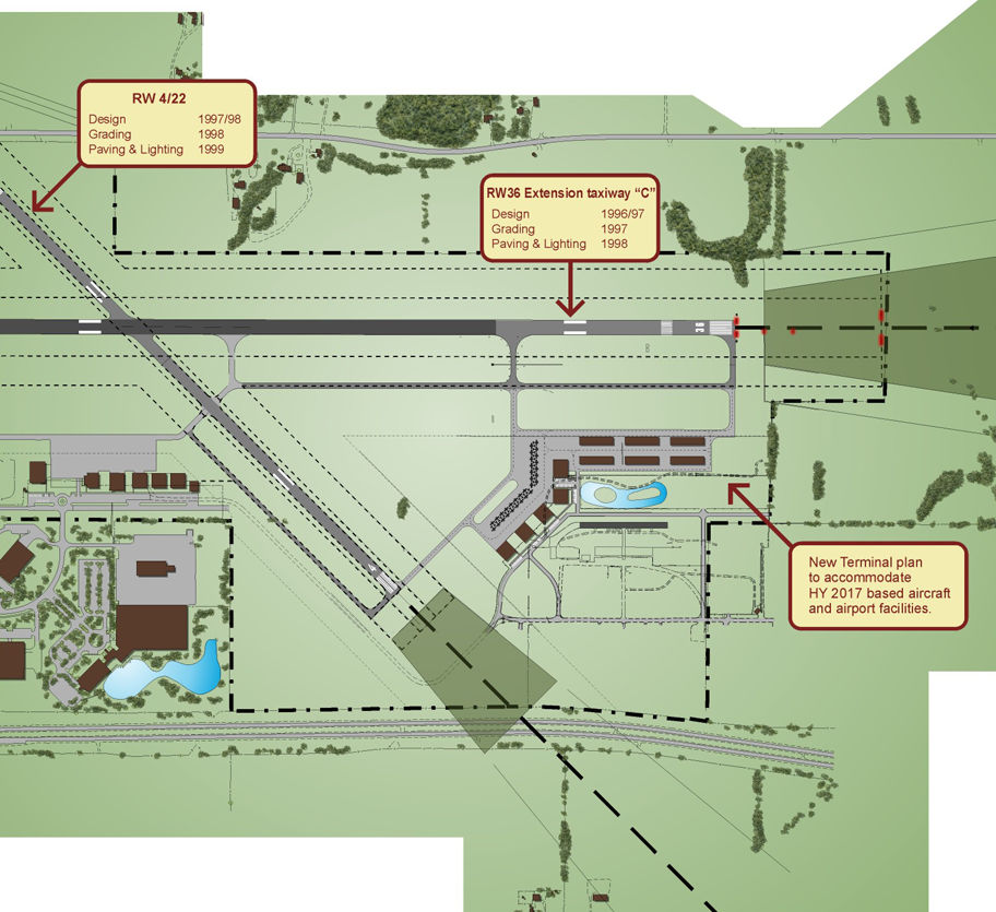 Airport Site Plan